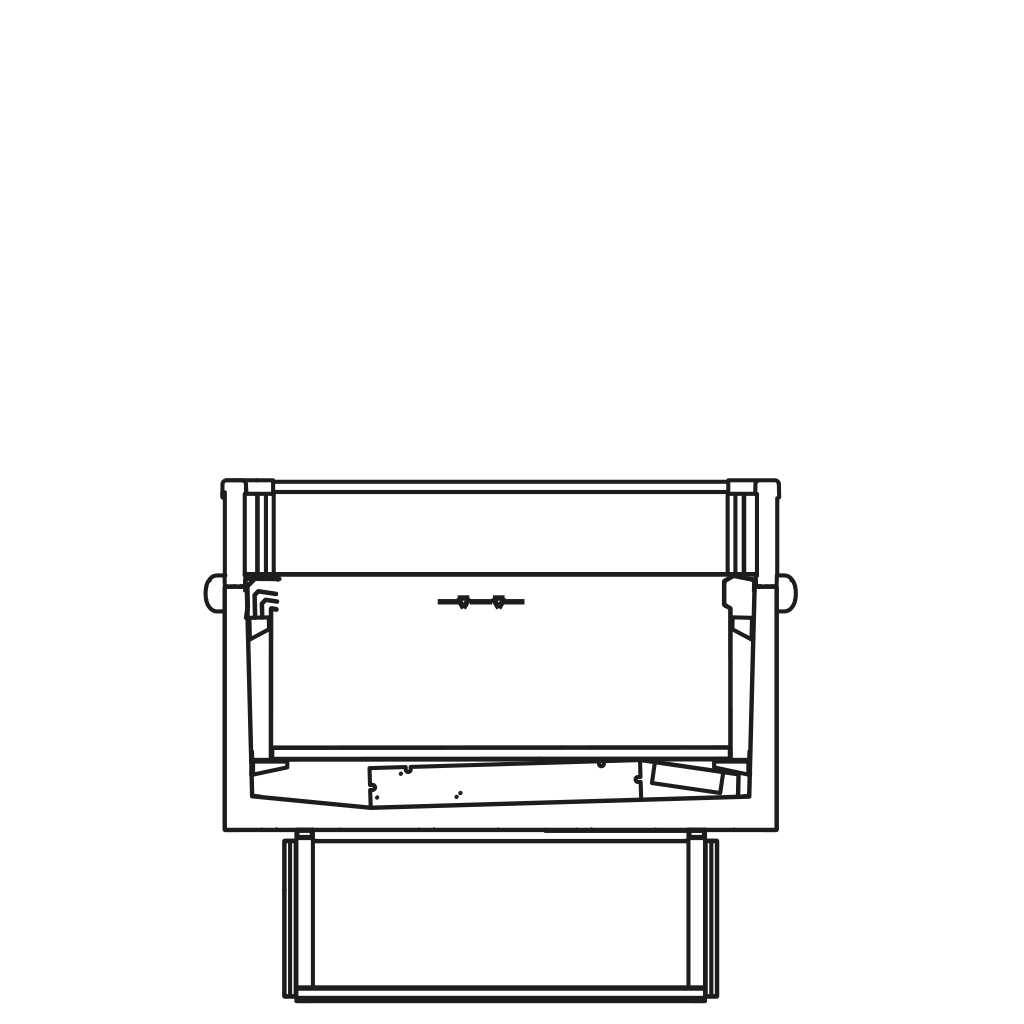 Seitenschnitt - XENIA BT/TN - Umschaltbare Ausführung