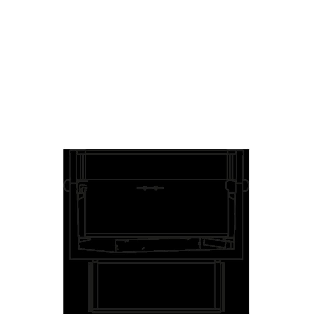 Seitenschnitt - XENIA BT - Tiefkühl-Ausführung