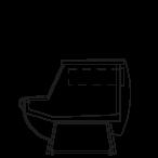 Side cut - KAROLINA MP - Neutral table