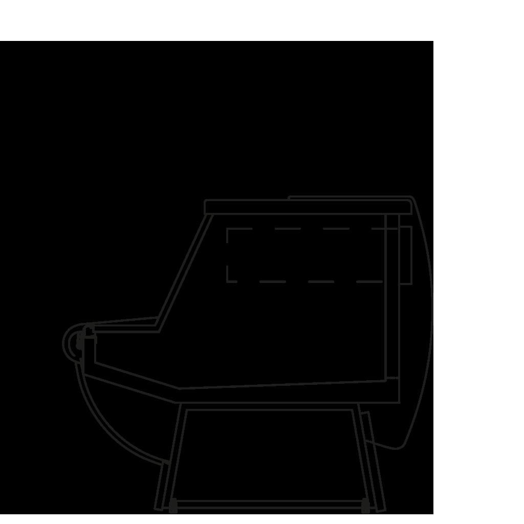 разрез  - KAROLINA MP - Расчётный стол