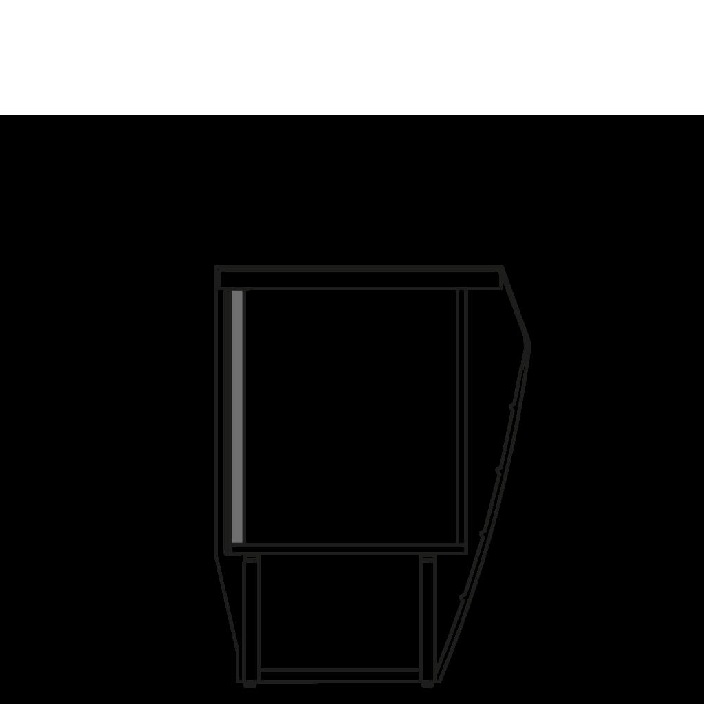 разрез  - LINDA MP - Расчетный стол