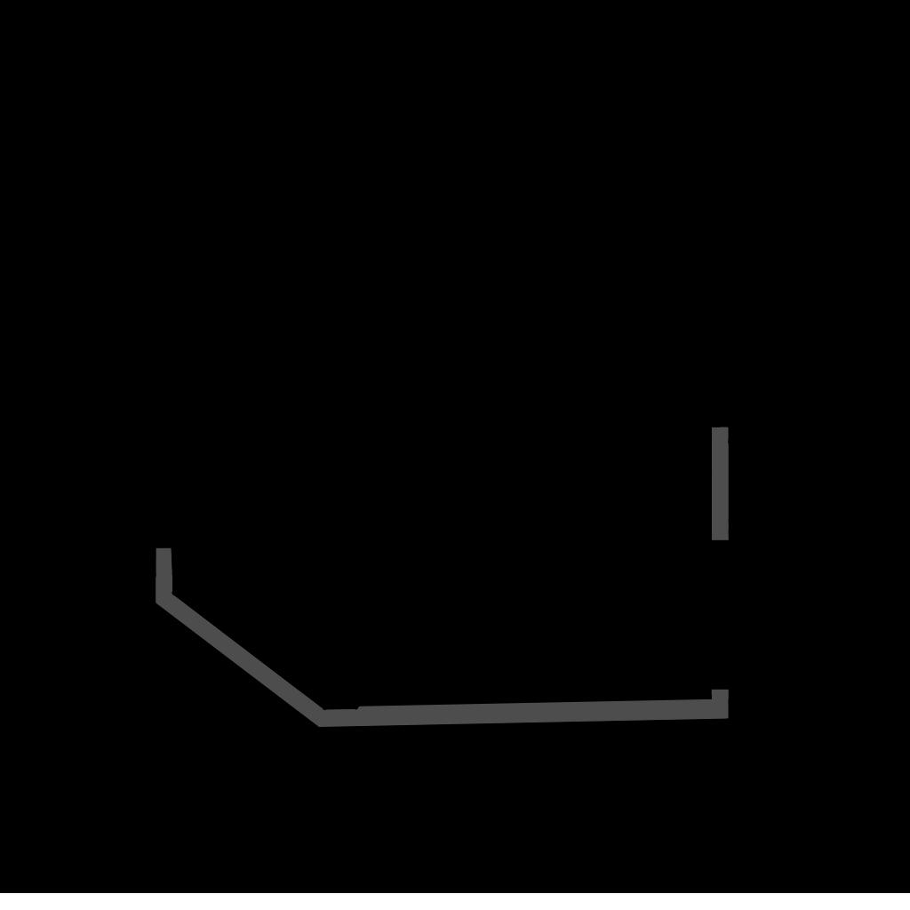 разрез  - KUBUS TPI - Тепловая витрина с сухим нижним подогревом