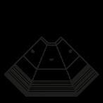 Seitenschnitt - NEWKLARA 45°E,45°I,90°E,90°I - Ventilierte Eckkühlung