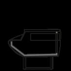 Seitenschnitt - NEWKLARA MP - Kassentisch