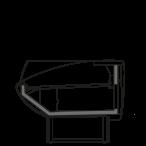 Side cut - NEWKLARA VSS - Ventilated refrigeration self service