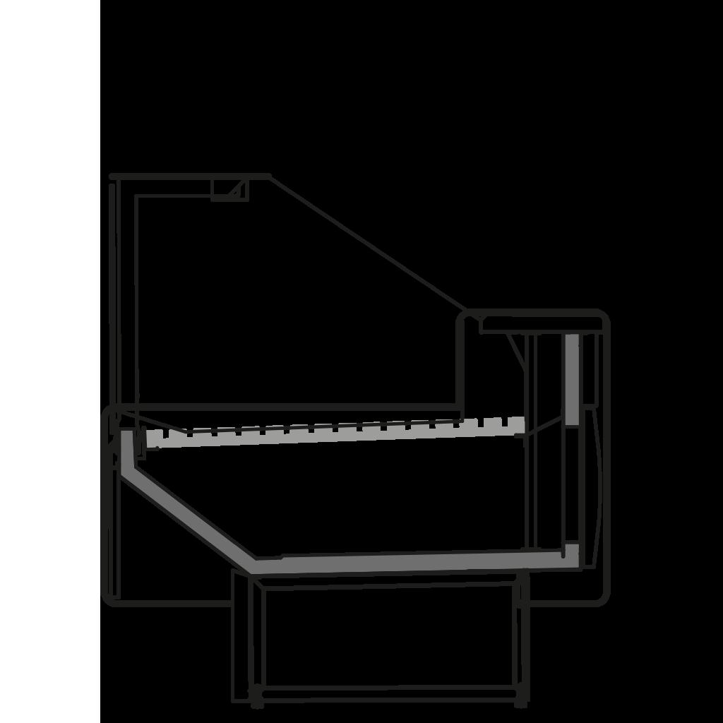 разрез  - NEWZITA P - для продажи хлебобулочных изделий