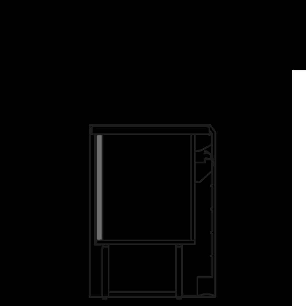 разрез  - LINDAQ MP - Расчетный стол