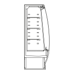 Bočný rez - STELA M1 - Chladiace prevedenie