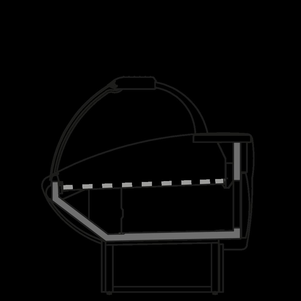 разрез  - NEWKLAUDIA P - для продажи хлебобулочных изделий