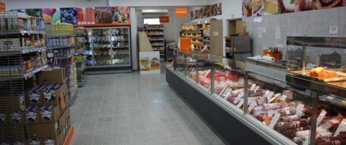 Витрины KUBUS V - Supermarket Hlohovec