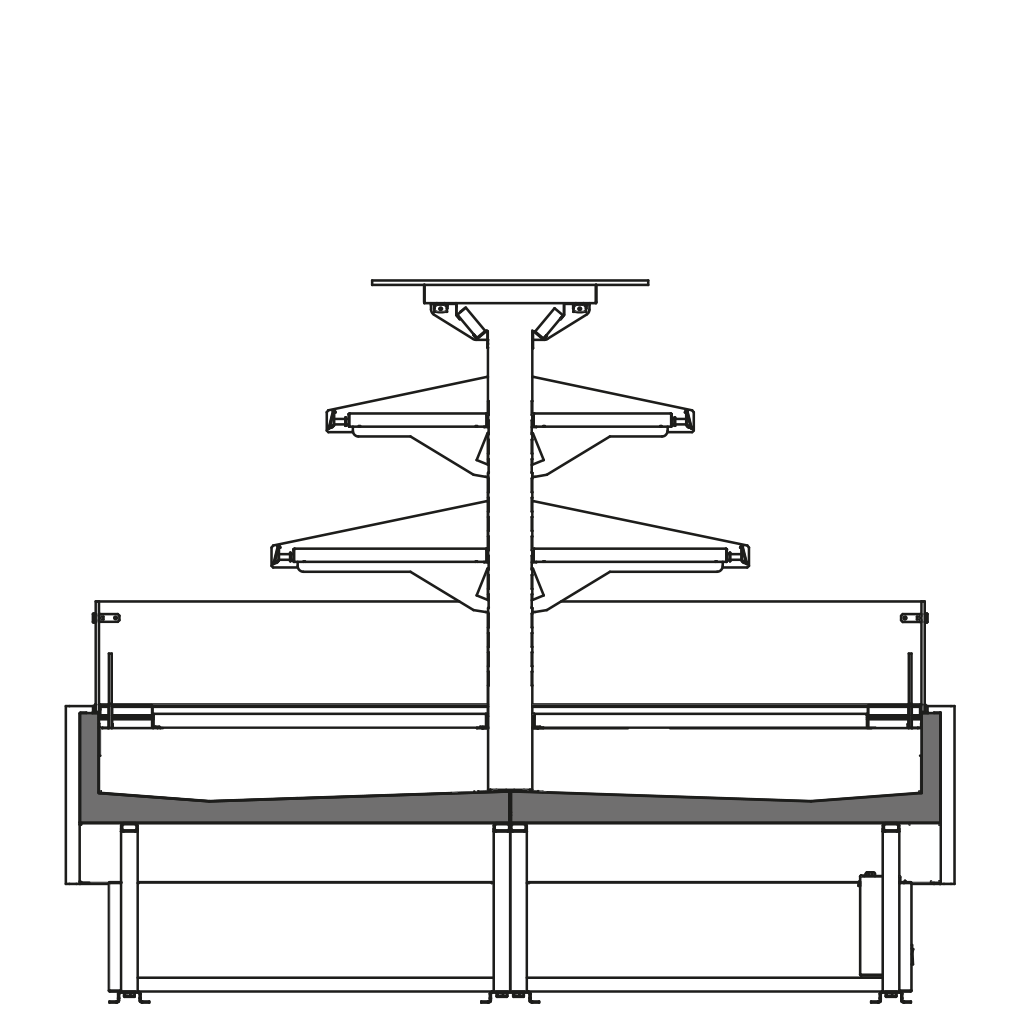 Seitenschnitt - CONV M2 - Kühl - Ausführung
