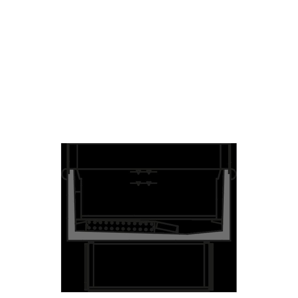 разрез  - VERA M2/M1 - среднетемпературный вариант