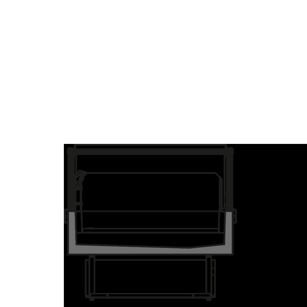 разрез  - FELIX Q BT/TN - Комбинированый вариант с возможность переключения