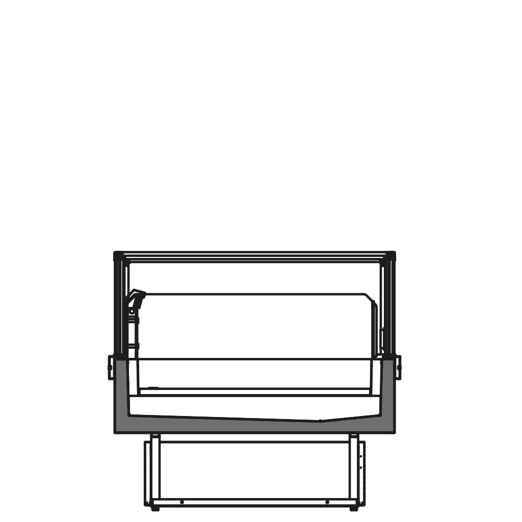 разрез  - FELIX Q TN - Cреднетемпературный вариант
