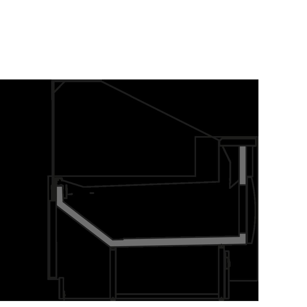 разрез  - ZOE P - Для продажи хлебобулочных изделий